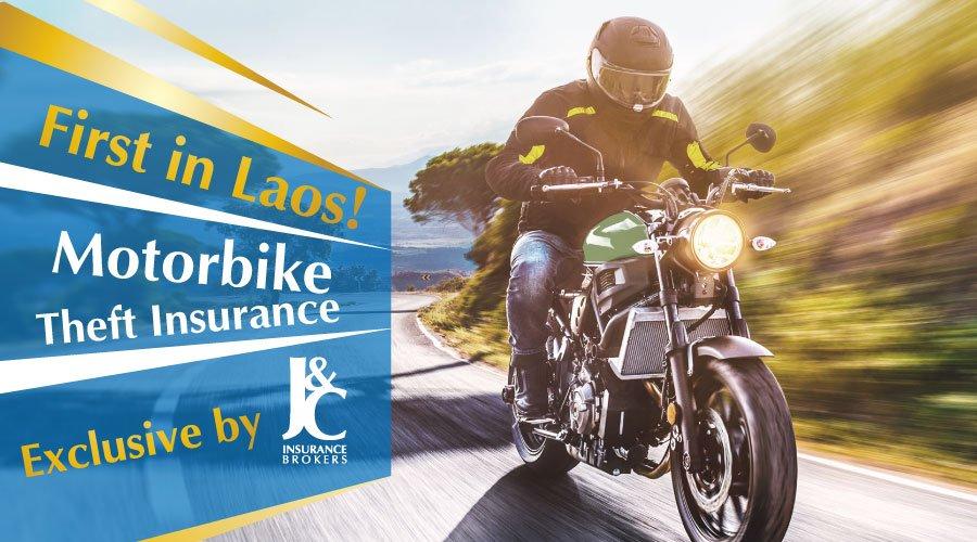 Motorbike Theft Insurance Laos