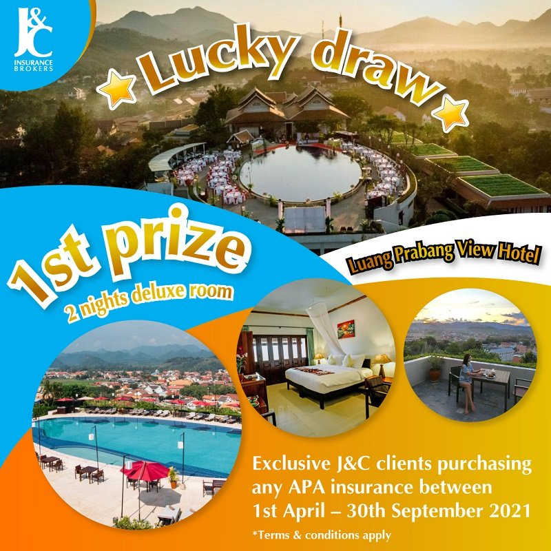 Lucky Draw Promotion J&C Insurance Brokers