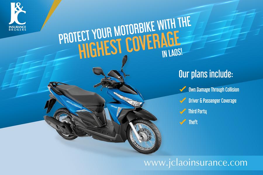 J&C Insurance Brokers Motorbike