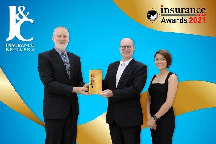 J&C Insurance Brokers award